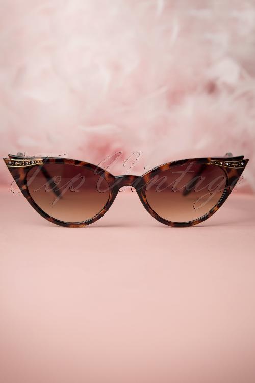 So Retro Vintage Cat Eye Diamond Glasses 260 79 13238 20140516 0007W