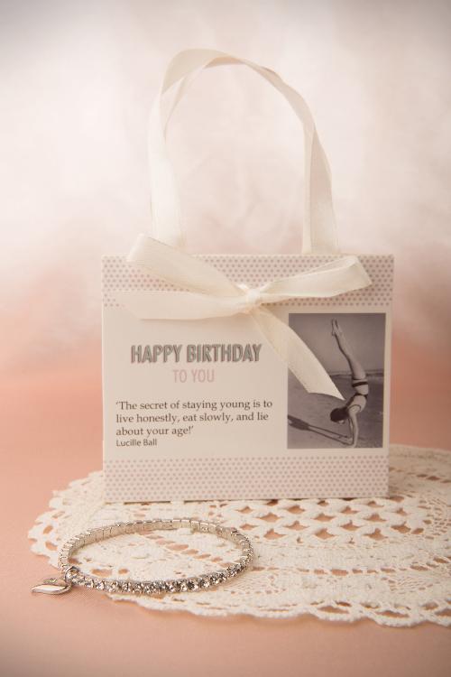 Lovely Happy Birthday Diamond Bracelet 310 92 13144 20140616 0009