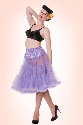 Bunny 50s Petticoat lavender 10987