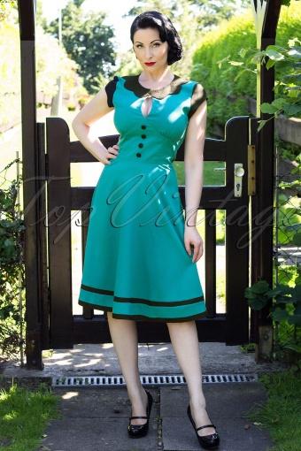 Dress Petrol1