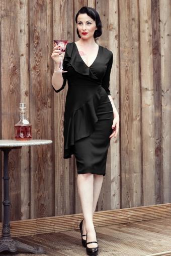 Collectif Clothing  Rita Dress Navy 101 31 12381 20140204 0006Ava