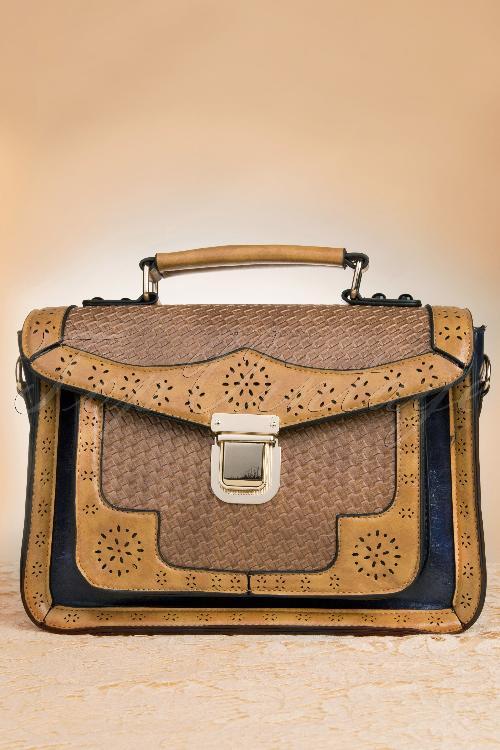 Banned blue multicolor handbag 212 79 12772 20140610 0004w