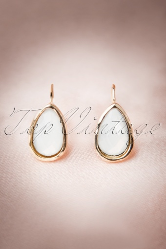 Darling divine Gold earrings white 334 50 12244 20140608 0004 (1)w