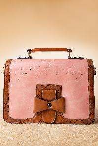 50s Scandal Antique Handbag in Pink