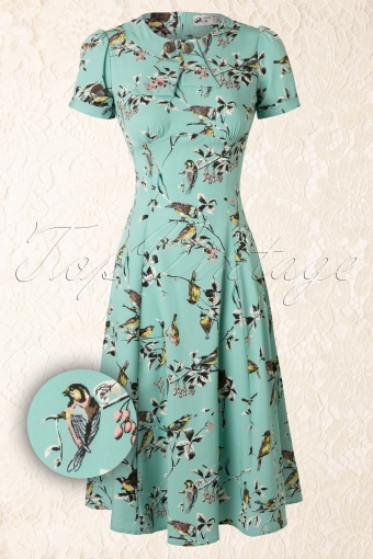 Bunny Spring Blue A line Birdy Dress 106 39 12048 20140523 0005WAV