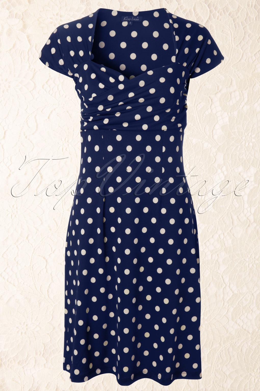 king louie blauwe jurk