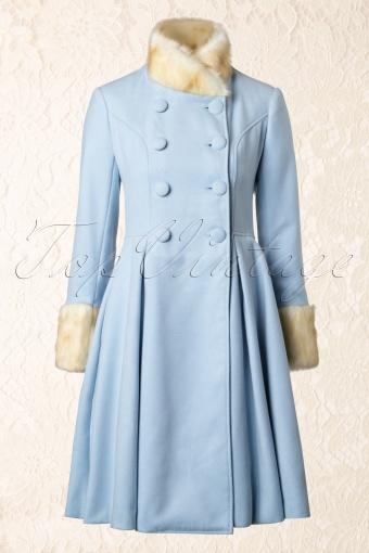 Bunny Trixie Coat Baby Blue 152 30 13462 20140712 0009W