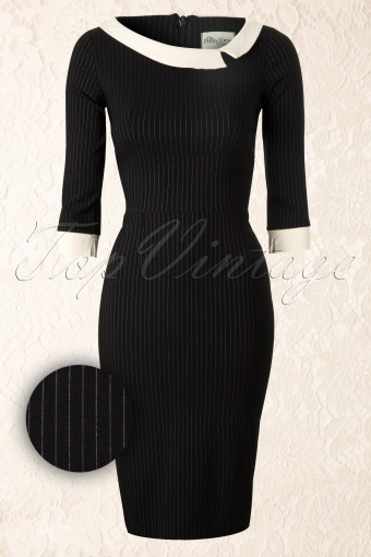 The Pretty Dress Company  Mistress Black Stripe 101 14 12486 20140211 0004WV