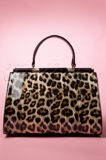 Milan Brown Leopard Print Bag 212 79 13777 20140819 0018W
