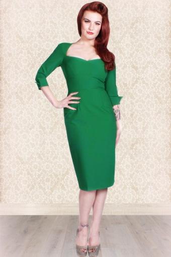 groene jurk adele