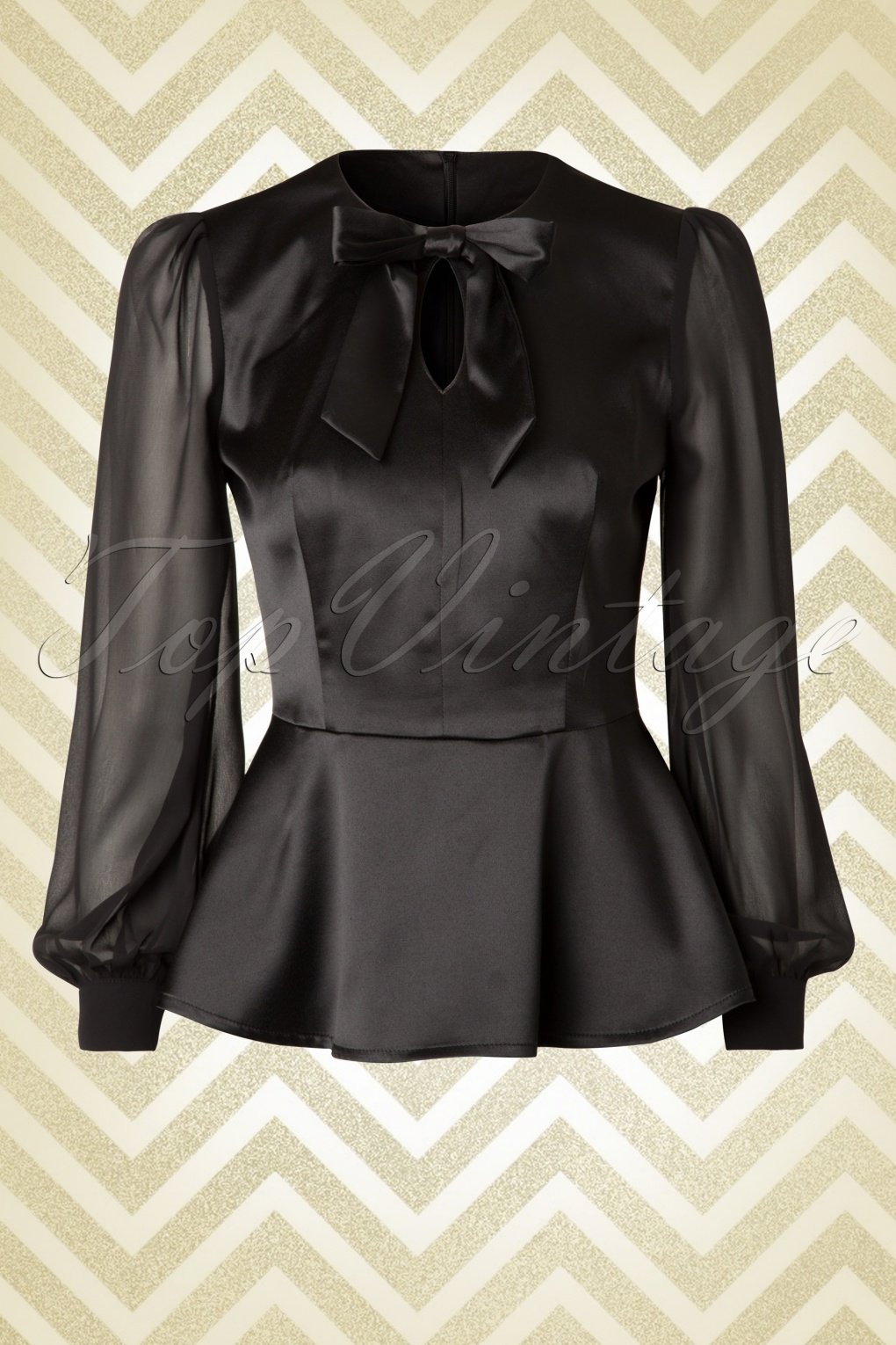 Black Long Sleeve Blouses