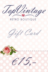 Gift card € 15