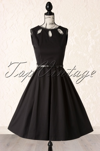 Lindy Bop Lily Black Swing Dress 102 10 14529 20141020 013p