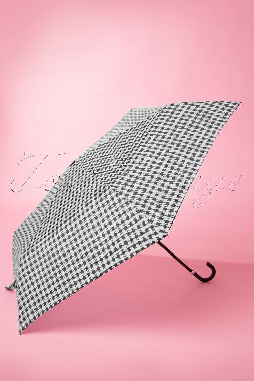 So Rainy Monochrose Black and White Umbrella 270 14 14436 20141119 0007W