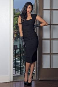 Uma Dress Années 50 en Noir
