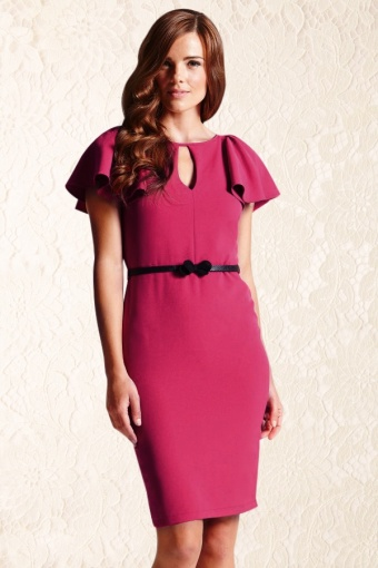 Pink Dress with Sleeves