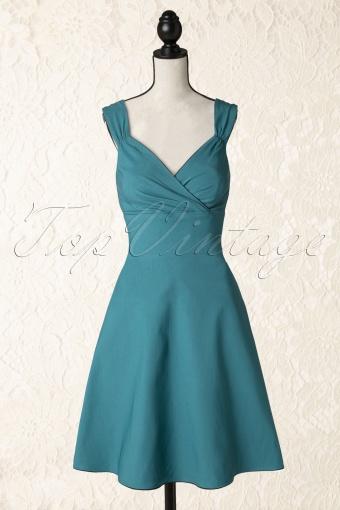 9bc85c9f4689 Steady Clothing 105 30 14296 Diva Swing Dress Teal 20141209 0006Pop