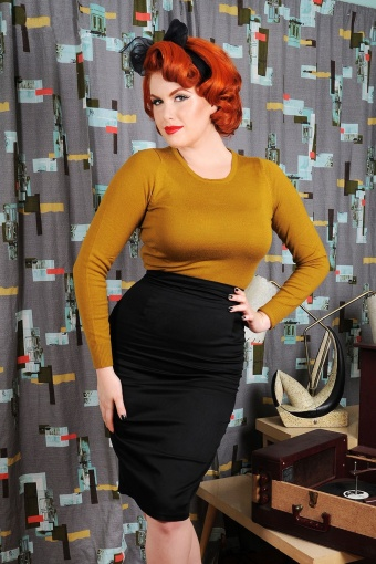 Pinup Couture 50s Classic Pencil Skirt 10839 4