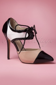 Pleaser Tri Tone Mobster Pumps 402 1014582 20141218 0013W