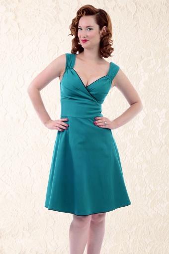c381a8dde1cc Steady Clothing 105 30 14296 Diva Swing Dress Teal 20141209 0009