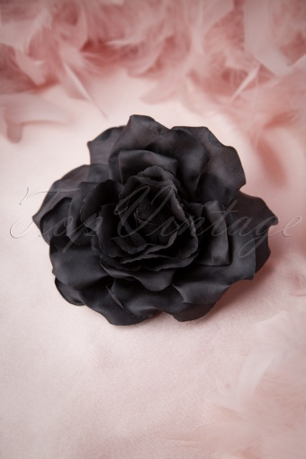 Darling Divine Rosy Black Hairclip Broche 200 10 11170 20141115 0008W