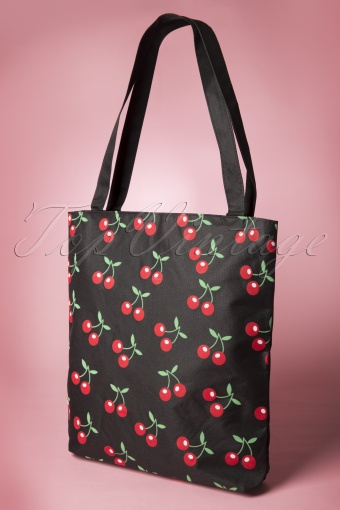 From Paris With Love Cherry Shopper Bag  213 14 13248 20141126 0022W