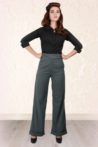 Collectif Lorenza Houndstooth Swing Pants 113 19 11838 20131030 0008