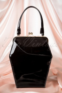50s To Die For Handbag In Black