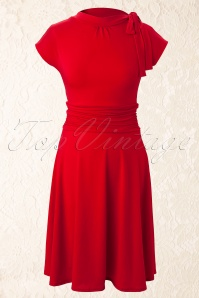 Retrolicious Bridget Bombshell Red Dress 10516 20120717 009