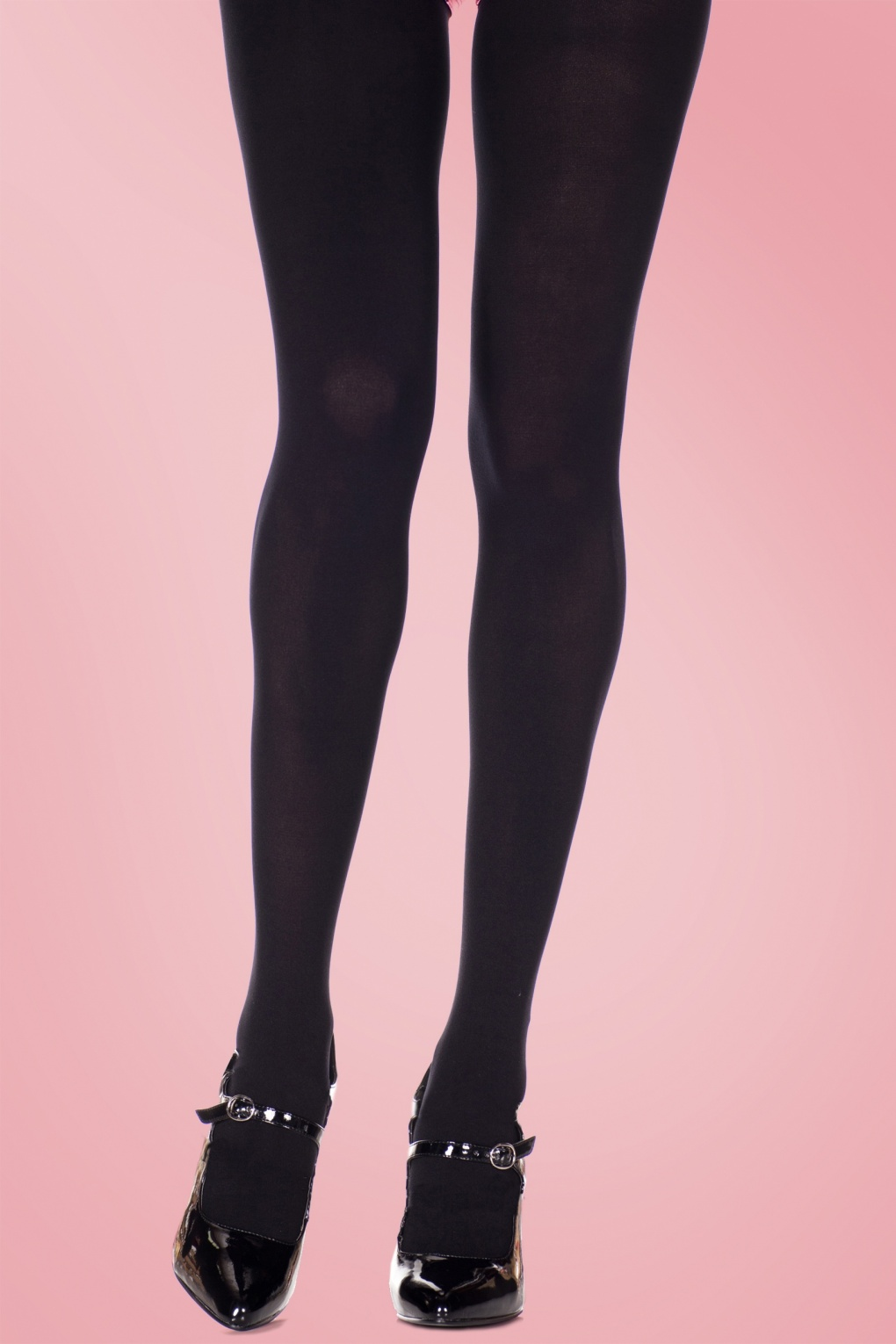 1960s Tights, Stockings, Panty Hose, Knee High Socks Classy Black Queen Size Tights £5.29 AT vintagedancer.com