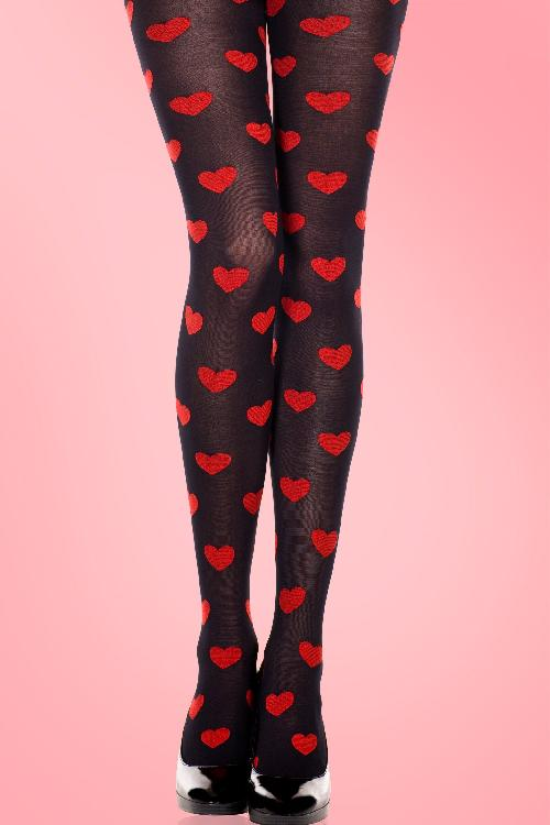 Lovely Hearts Tights 11592 01