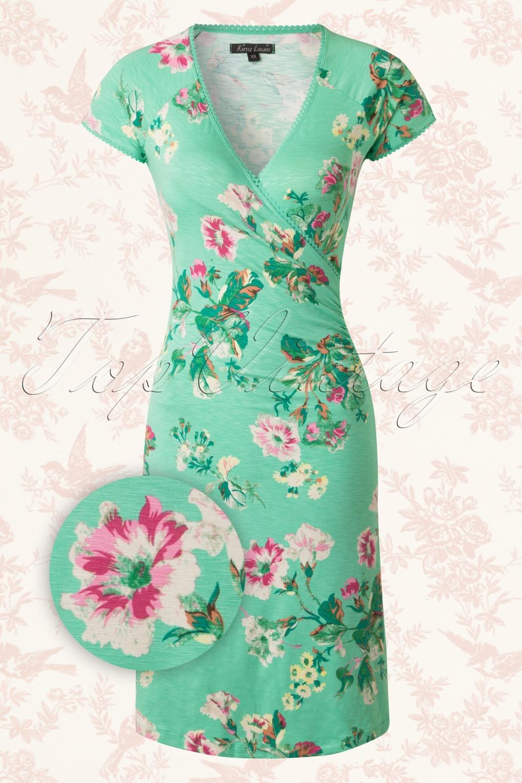 king louie groene jurk
