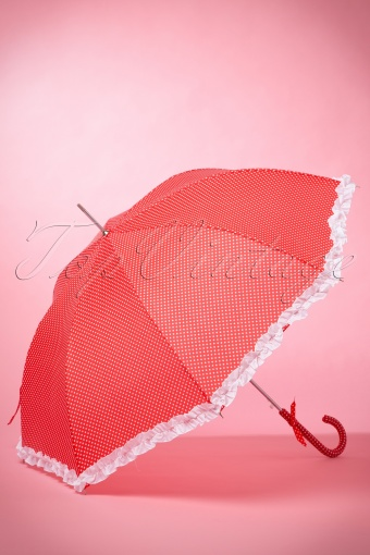 So Rainy Red Polkadot Umbrella 270 27 14871 02042015 04W