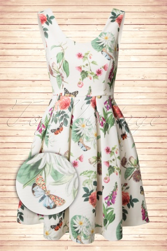Yumi Botanical Off White Dress 105 57 14231 20150110 0006W2