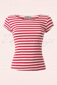 Alice T-Shirt en Rouge