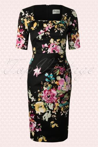 The Pretty Dress Company Atlanta Black Sevill Dress 100 14 12552 20140319 0003W