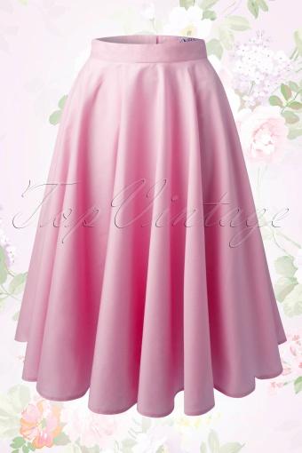 Bunny Paula 50s Skirt Pink 122 22 14648 20150117 008