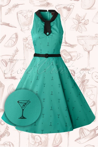 Vixen  Fun Green Cocktail Dress 106 49 12575 20140219 0003WV