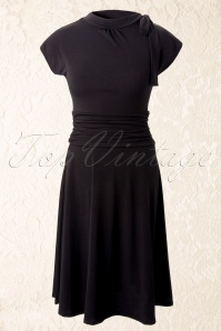 Retrolicious Bridget Bombshell Dress Black 10515 1