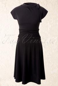 Retrolicious Bridget Bombshell Dress Black 10515 1