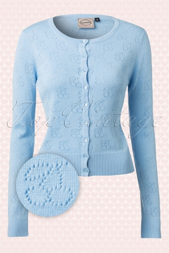 15c7cce3be Banned Light Blue Knitted Cherry Cardigan 140 30 15124 20150218 0009W2