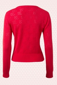 Banned Red Knitted Cherry Cardigan 140 30 14695 20150218 0004W