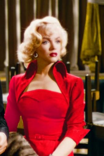TopVintage exclusive ~ 50s Lorelei Marilyn Monroe Red Dress