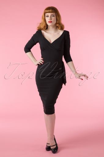 cheap prices look for online for sale 50s Veronica Ultimate Wiggle Dress in Black