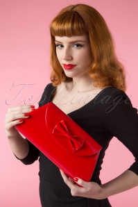 TopVintage Red Clutch 210 20 14537 02242015Vanessa 687W