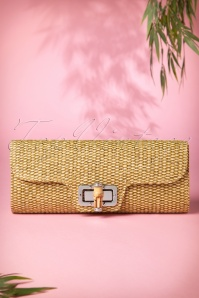 Collectif Clorhing 50s Bamboo Clutch 210 52 10236 01312015 04W