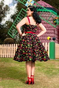 Pinup Couture Molly Cherry Swing Dress  102 14 15389 2