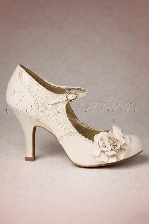 9005078b Ruby Shoo Emily Shoes Cream 402 51 14050 02042015 04W