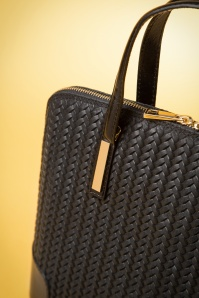 VaVa Vintage Black Handbag 212 10 14957 02142015 14