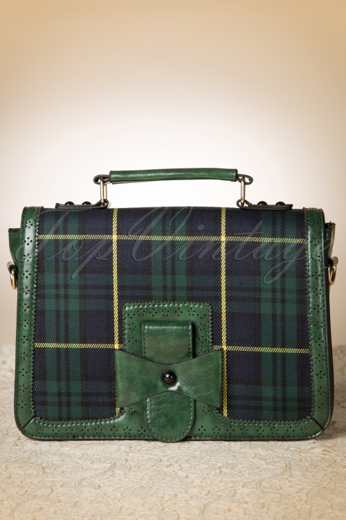 Banned 50s Retro Messenger Bag Green 212 49 14711 02142015 03W
